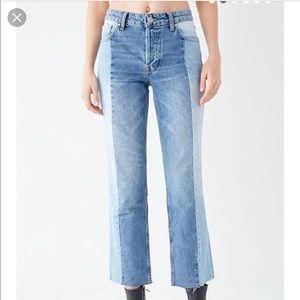 BDG Jeans - BDG split color Jessye jeans